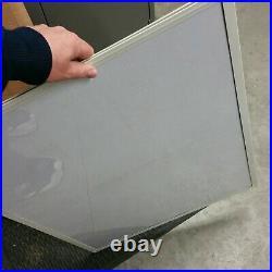 10 NEW Poster/Art work display rack case Steel flip display panels 37 x 26