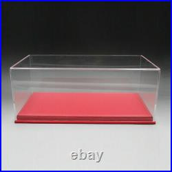 118 Scale Model Car Acrylic Display Show Case + Leather / Carbon Fiber Base
