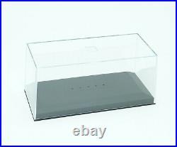 12x Vitrine Plexiglas Klarsicht Pappschachtel display case showcase box 143