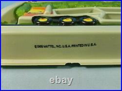 1968 Mattel Hot Wheels Redline U. S. A. Car Carrier Showcase Plaque Display