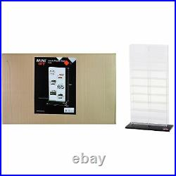 20 Car Acrylic Display Show Case Large Mini GT for 1/64 Scale Model Cars by T
