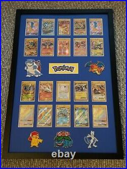 20 Card Pokemon Frame Display. Showcase Your Favorite Cards Psa/bgs/one Touch