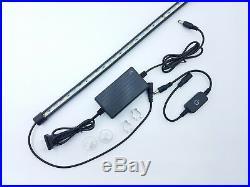 20 LED Light for Display Showcase Super Bright Retail Cabinet Light Kit Black