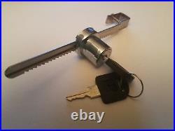 20 pcs Sliding Glass Door Ratchet Lock Keyed Alike Display Showcase C470T-110