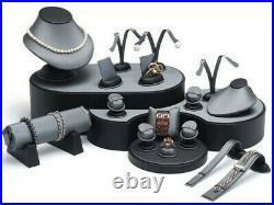 20Pc Grey Display Set Grey Jewelry Display Stand Jewelry Store Displays Showcase