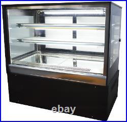 220V Bakery Showcase Commercial Pie Cake Display Cabinet Dessert Display Case