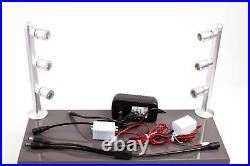 2x 8 inches museum showcase display LED light with UL 12V power supply FY53M