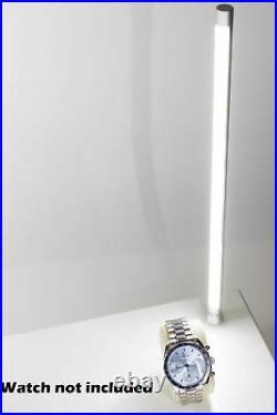 2x Brightest High end showcase display LED light Stem pole 12 + UL power supply