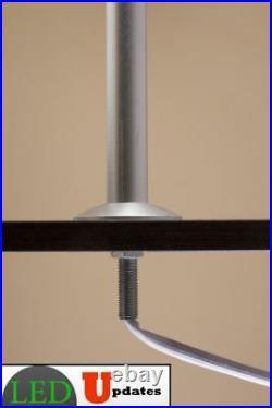 2x Retail display jewelry showcase LED silver pole light fy-53 UL power supply