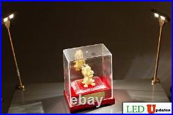 2x elegant showcase display LED pole light Fy-37G with UL 12V power supply