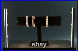 2x showcase LED pole light for Jewelry Watch Food Display FY-34M with UL power