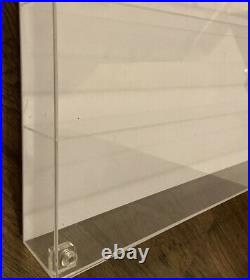 3.75 or 118 action figure display case collectors showcase Fits Upto 90+ Gijoe