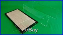 30 x 6 x 12 Acrylic Display Case Showcase for Large Scale Trains Black Frame