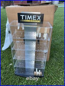 32 Tall Vintage Timex Sports Watch Countertop Display Case Showcase Cabinet New