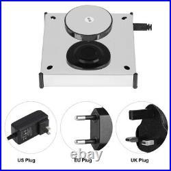 360 Rotating Case Magnetic Display Base Floating Show Shelf Display Platform LED