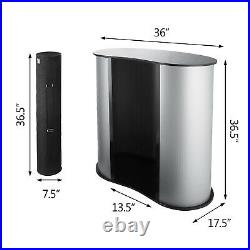 3636'' Trade Show Display Podium Table Counter Stand Professional withCase