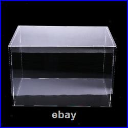 40x30x30cm Clear Acrylic Display Case Show Box for Action Figures Doll Model