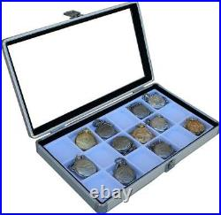 4pcs 18 Pocket Watch Show Case Display Antique Jewelry Supply box pocket watches