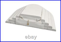 50pc Showcase Jewelry Display Stand White Display Set for Jewelry Store Displays