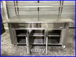 63x31 Buffet Cart Cafeteria Show Case Display Station Carter Hoffmann CC60T 4131