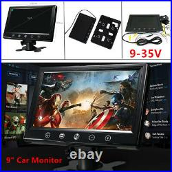 9inch TFT LCD Car Rearview Color Monitor Display Devices for VCD DVD GPS Camera