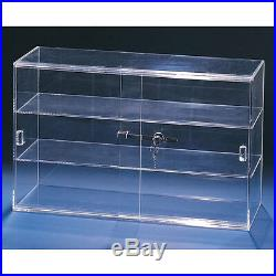Acrylic Cabinet Acrylic Case Counter Top Display Cabinet Acrylic Showcase withKey