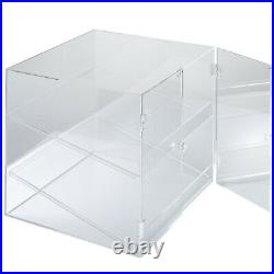 Acrylic Display Cabinet Glued 2 Shelves Food-grade Bakery Showcase PROMOTION