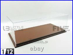 Atlantic Case 1/12 Display Case Show-case 1/12 Mulhouse Brown Leather 1009