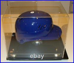 Baseball Batting Helmet Display Holder Case Caseworks Riser Showcase Frame