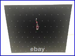 Black Velvet 90pin Body Jewelry, Charm, Display Showcase Board, low as $12.00 ea
