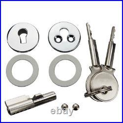 Brand New 10Sets Glass Sliding Door Locks Showcase Jewelry Display Cabinet Locks