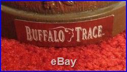 Buffalo Trace Kentucky Bourbon Embossed Single Bottle Showcase Bar Display Stand