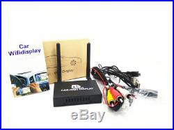 Car WiFi Display 2.4G+5G Wireless Airplay System Mirror Link Box for Android iOS