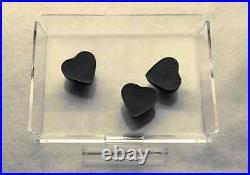 Chocolate candy acrylic showcase display case tray 13 per box 6 x 6