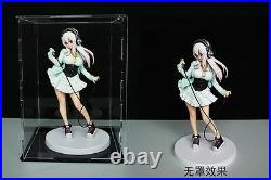 Clear Acrylic Display Box Dustproof Action Figure Show Case Display Case