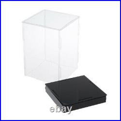 Clear Acrylic Display Box Large Dustproof Protection Doll Model Show Case