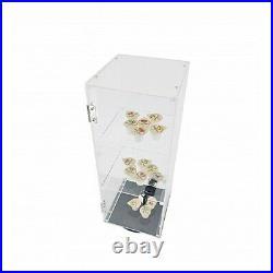 Clear Display Cabinet Acrylic Showcase Plexiglass Shelf Transparent Custodia