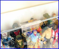 Collectors Showcase Premium Display Case for 3-3/4 GI Joe Action Figures -S2MS