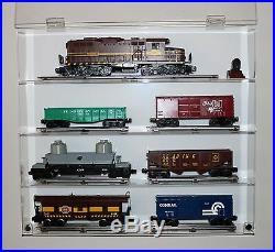 Collectors Showcase Premium Display Case for Lionel Model Trains T3MS