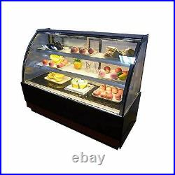 Commercial Display Fridge 220V Cake Showcase Bakery Display Cabinet Refrigerated
