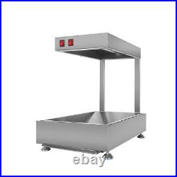 Commercial French Fries Churros Warming Showcase Food Warmer Display Stainless