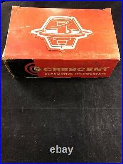 Crescent Nos Poppet 160 Thermostat 3-9260 Dealer Display Case Of 10 Vintage Oem