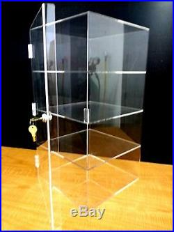 DS-Acrylic CUPCAKE Stand Showcase Pastry Bakery Counter Display withdoor & lock