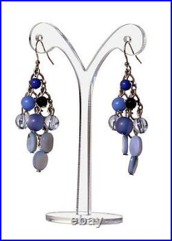 Dangle Earring Display Stand Y Shape Clear Acrylic Showcase Qty 24