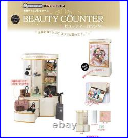 Discontinued Re-Ment Beauty Counter Department Store Display Show Case Cabinet