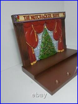 Disney Traditions Jim Shore The Nutcracker Suite Showcase Collection Display