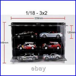Display Show Case Vitrine 6 cars 1/18 40017 ATLANTIC CASE