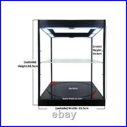 Display Show case Vitrine Led Black 1/18 T9-69929 TRIPLE9