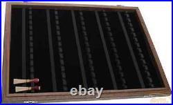 Display / show case for 70 bassoon reeds to insert