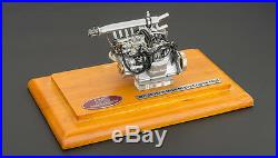 Engine With Display Showcase For 1955 Mercedes Slr Mille Miglia 1/18 By CMC 120